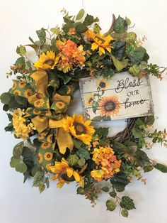 Large Fall Wreath Fall Ball Mums Mini Sunflowers Fall Wreath 18 Inch Leaves Grapevine Wreath Fall Wreaths for Front Door