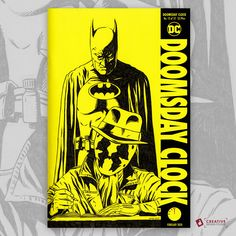 Doomsday Clock Sketch Cover by David Duke  #watchmen #batman #Rorschach #doomsdayclock #sketchcover #comicart #comicartist