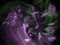 Blumen Fanatsie, Fraktales Bild