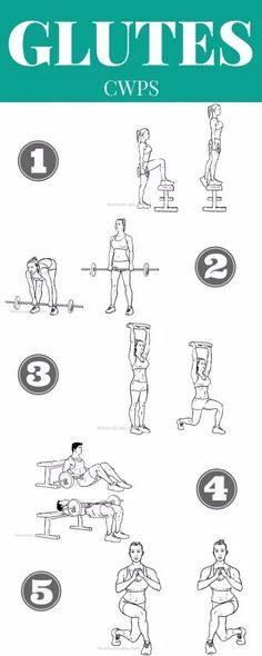 A list of the best glute exercises and how to do them correctly! Need exercises for your butt? Here are 5 of the BEST exercises to tone your bum. Learn from a personal trainer, how to tone your butt and get a butt lifting workout in! These exercises for your buttocks will help you get a round sexy booty in no time!