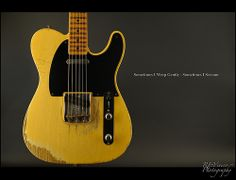 A Cure for My Blues - Fender Custom Shop 53 Telecaster Heavy Relic by REVivero, via Flickr