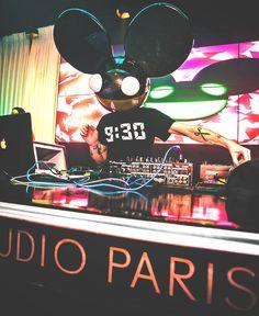 DeadMau5 // Live Acv // Studio Paris #dj #edm #liveact http://ciemnastronawinyla.blogspot.com
