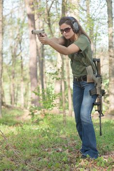 Girls can shoot too. Love this pic!