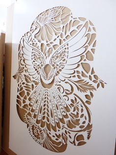 As an aerosol and stencil artist with a fine art degree, Flox has been making her mark on the inner cityscape of Auckland since Stencil Printing, Stencil Art, Stencils, Maori Art, Posca, Print Artist, Tribal Art, Types Of Art, Bird Art