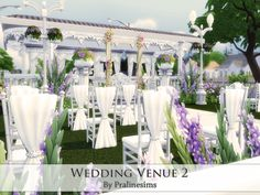 Wedding Venue 2 by Pralinesims at TSR via Sims 4 Updates
