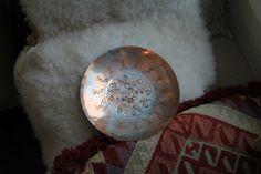 Vintage Handmade Copper Brass Mesika Israel by WildPoppyGoods