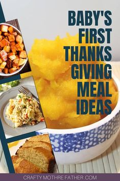 20 Baby's First Thanksgiving Meal Ideas - CraftyMotherFather
