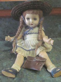 Rare Madame Alexander McGuffey Ana Doll 1930's