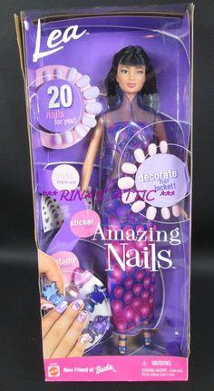 AMAZING NAILS LEA Barbie Doll