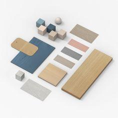 Materials palette. Photo © Note Design Studio