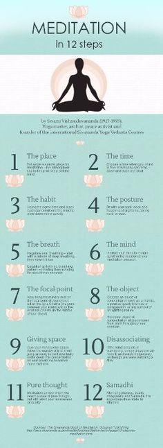 Meditation in 12 Steps #meditation