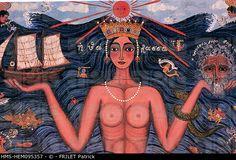 Greece, Peloponnese, the sea of Themis Tsironis Mediterranean Art, Greek History, Greek Art, Modern Artists, Art For Art Sake, Conceptual Art, Stock Pictures, Photo Library, Mermaids