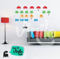 Crea tu Vinilo » Diseñando tus espacios » Space invaders