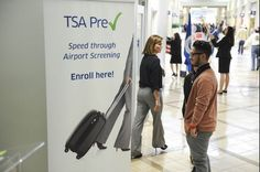 You can enroll inPreCheck at the airport, before your next flight.