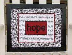 scripture wall art in black white flowers by abidingwordcreations