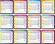 Modelos de base de calendários 2017 em PNG e PDF para aplicar em calendários, imagens e fotos, utilizado editores de imagens.