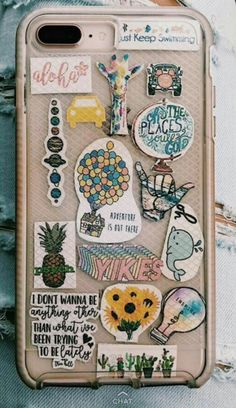 Cute stickers, capa iphone aesthetic phone case, phone covers, i phone c