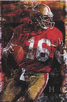 Joe Montana, Quarterback San Francisco 49ers By Stephen Holland