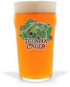 Cerveja Brewerkz Iguana Lager, estilo Premium American Lager, produzida por Brewerkz, Cingapura. 4.5% ABV de álcool.