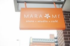 Mara Mi Stationery boutique, bakery, ad cafe!  In Stillwater, MN.  Wish I could fly over and check it out!