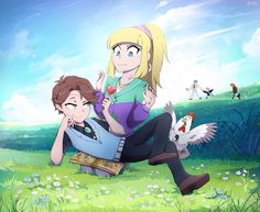 """Dipper, """"Hi sweetie."""" Pacifica, """"Ugh, you're the worst."""""""