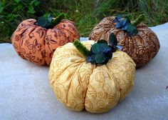 Use dried lavender or pine needles from your garden to make these scented fabric pumpkins. Get instructions from Jill on the Birds and Blooms Blog.