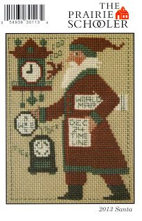 Just Cross Stitch in Limerick,PA: 2013- Prairie Schooler Santa 2013  It's here!  Can't wait to stitch it!