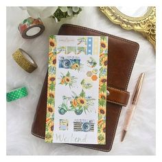 Last one for the evening. This one is Sunflower Snaps! Remember to use code 20OFF20 for 20% off 20 until tomorrow.  #plannergirl #plannerstickers #plannersupplies #plannergirl #sunflower #filofax #filofaxmalden #maldenochre #kikkik #filofaxdecoration #filofaxstickers #katespadeplanner #filofaxdeutschland #erincondren #happyplanner #stationery #stationeryaddict #stickers #sunflower #camera #photography #moped #spring #summer by isabelleowl