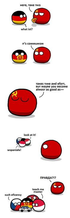 East German Communism #CountryBalls