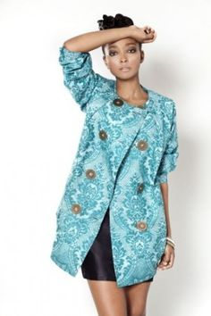 large batik dress