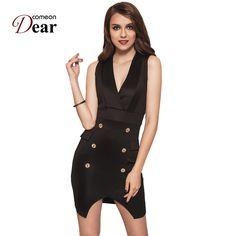 Summer runway dresses 2017 women high quality deep v-neck sexy dress off  shoulder short women fashionable dresses robe ce83709d0f90