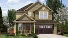 Raise Your Family in This Beautiful Craftsman Home. Plan 21124C The Hazel Green is a 1596 SqFt Cottage, Craftsman style home plan featuring Covered Patio, Den, Jack & Jill Bathroom, Loft, and Upstairs Utility Room by Alan Mascord Design Associates. View our entire house plan collection on Houseplans.co.
