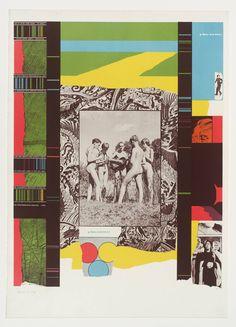R.B. Kitaj 'Boys and Girls!', 1964 © The estate of R. B. Kitaj