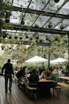 Outdoor Restaurant Patio, Outdoor Cafe, Rustic Restaurant, Restaurant Bar, Restaurant Design, Cafe Shop, Cafe Bar, Bakery Cafe, Garden Coffee