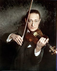 """Jascha Heifetz (1901 - 1987) - Soundtrack, Music, Actor, Violinist - Played himself in several movies including documentaries - Soundtracks for """"No Love in the City 2009 (Violin Concerto in D, Op 35) - """"Kate  Leopold"""" 2001 (Alt Wien) - """"Schindler's List"""" 1993 (arranger: La Capricieuse Opus 17) and others"""