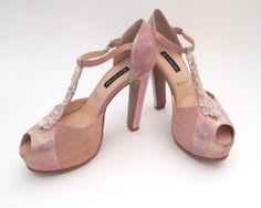 Zapatos de Luz Príncipe para el cortejo de honor de la boda de Araceli González.