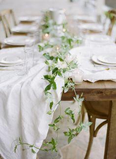 White Wedding Ideas from Belle Lumiere Workshop