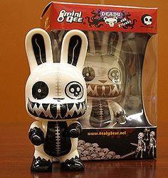 Death Bunny Nitro Glow-in-the-Dark 5-inch Vinyl Toy