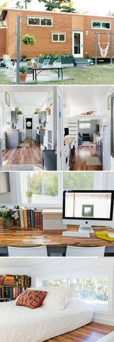 The Golden: a 320 sq ft tiny home from American Tiny House
