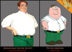 @MrSilverScott as #PeterGriffin!  #PropertyBrother is also a #FamilyGuy!