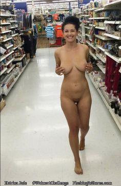 At naked walmart caught girls