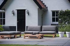 Loungeset SIL uit de ROYAL DESIGN Collectie. www.royaldesign.nl