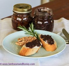 Fig & Olive Tapenade or Sundried Tomato Tapenade