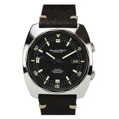 IWC Stainless Steel Aquatimer Wristwatch circa 1960s | From a unique collection of vintage wrist watches at http://www.1stdibs.com/jewelry/watches/wrist-watches/