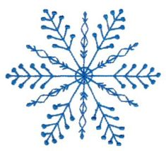 Embroidery | Free Machine Embroidery Designs | Bunnycup Embroidery | Snowflakes