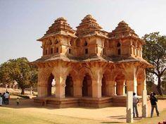 Group Of Monuments Hampi Heritage  India