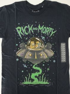 Rick and Morty T-Shirt AOP Mr Meeseeks Mens T-Shirt Blue