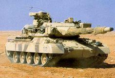 Modernized Spanish Army AMX-30EM2 MBT