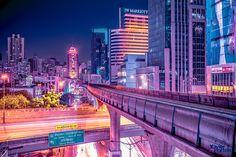 Marvelous Pictures of Bangkok at Night by Xavier Portela – Fubiz Media