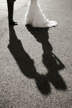 Cool Idea - Wedding Shadows.